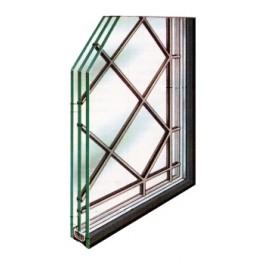 Glas in lood in dubbelglas zetten